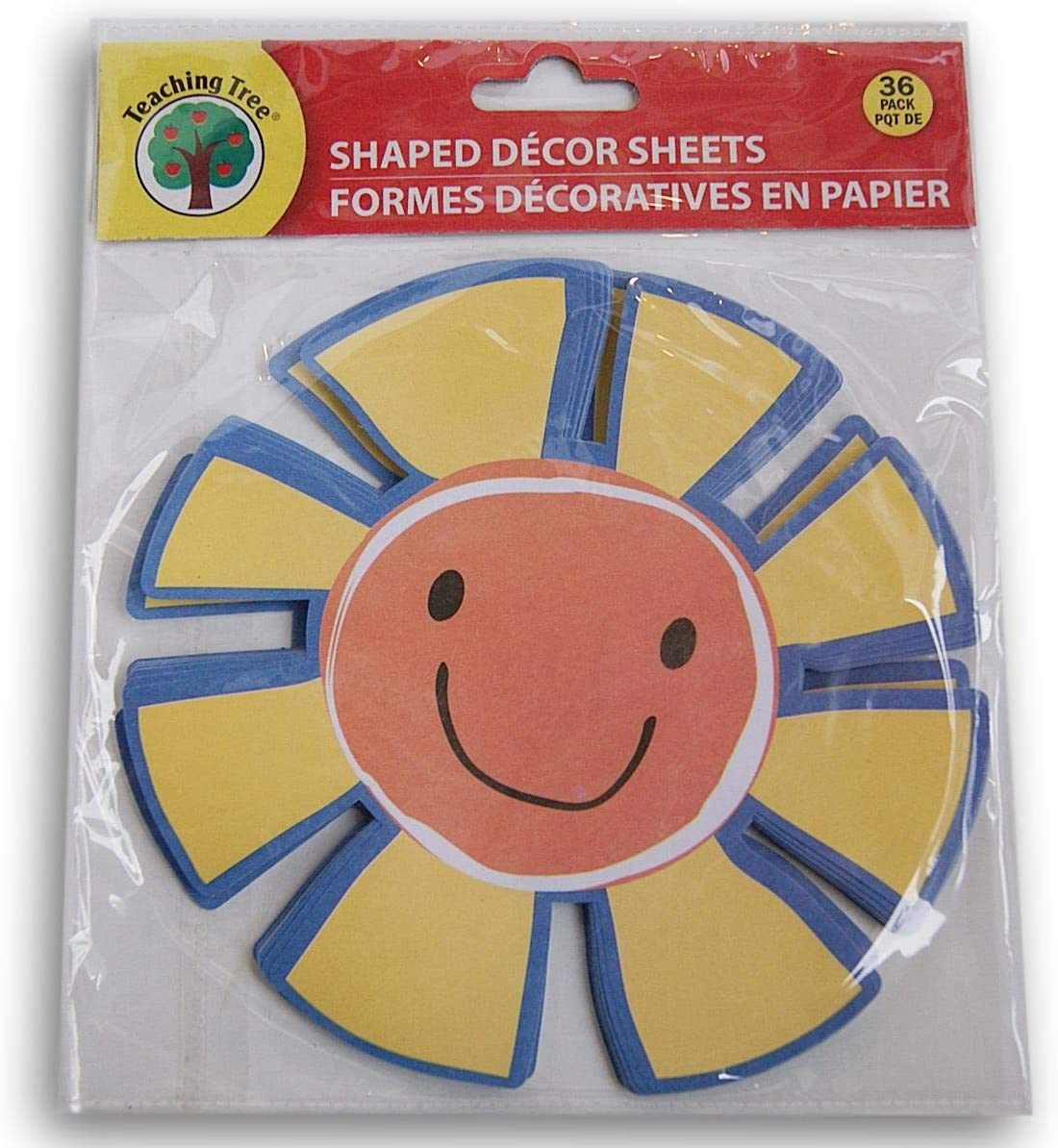 Teaching Jacksonville Mall Tree Paper Fort Worth Mall Shaped Decor Sheets Smiling - Sun Count 36