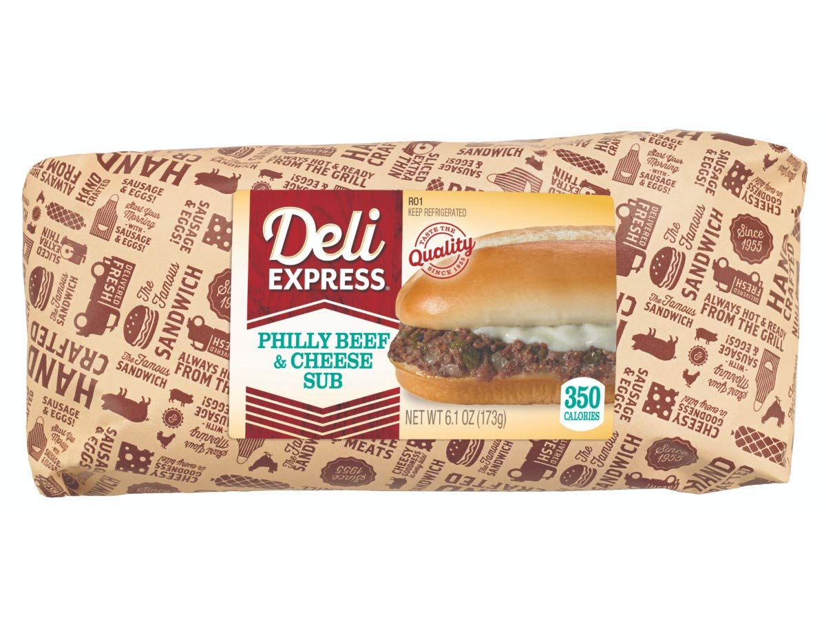 Deli Express Hot To Go Deluxe Philly Beef Sandwich 8 5.4 -- Special sale item Ounce per