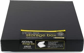 Lineco 11x14 Clamshell Folio Storage Box, 1.75