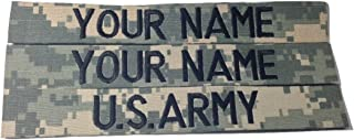 3 piece ACU Name Tape & US Army Tape, Sew-On (without Fastener)