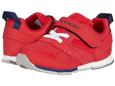 Tsukihoshi Kids Racer (Toddler/Little Kid) (Red/Navy) Boys Shoes