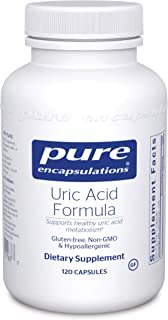 Pure Encapsulations - Uric Acid Formula - Hypoallergenic Supplement with Vitamins and Herbal Extracts to Support Healthy U...
