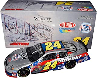 AUTOGRAPHED 2003 Jeff Gordon #24 DuPont Racing THE WRIGHT BROTHERS (100 Years of Aviation) Chevy Monte Carlo Signed Collectible Action 1/24 Scale NASCAR Diecast Car with COA