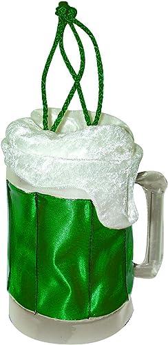 tomar hasta un 70% de descuento verde Beer Mug Mug Mug Purse. Costume Fancy Dress Clothing. (accesorio de disfraz)  el mas de moda