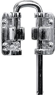 Defender Security U 9910 Chain Door Guard Steel with Slide Bolt Brass Plated