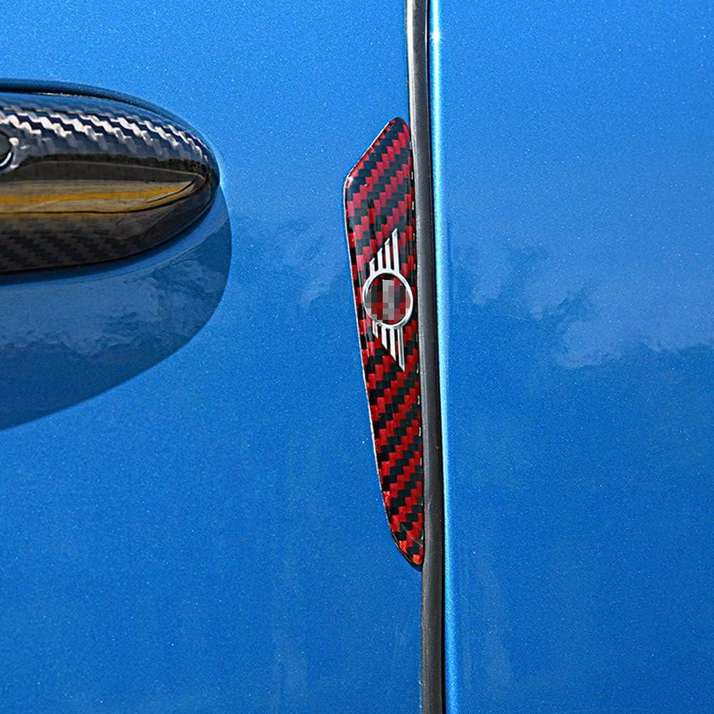 ZHANGDAN Adesivi per la Protezione della portiera dellauto Accessori Esterni anticollisione Logo Decorazione per BMW Mini Cooper
