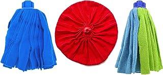 PAMEX Fregona Microfibra Ballarina Tiras Set 3 Unidades 3 Modelos 3 Usos