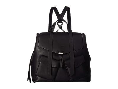AllSaints Captain Backpack (Black) Backpack Bags
