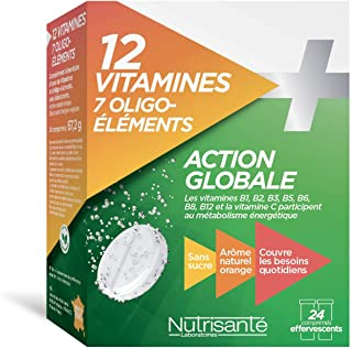 Nutrisanté 12 Vitamins + 7 Trace Elements 24 Tablets