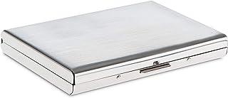 Storite 6 Slots Stainless Steel RFID Blocking Metal Credit Card Holder Wallet –(Silver)
