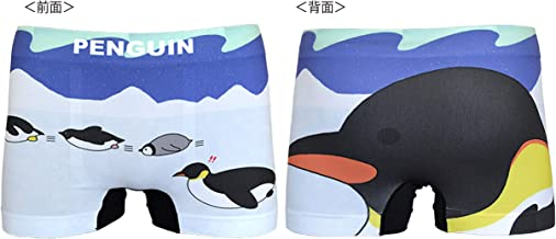 AQUA 雑貨 シームレス ボクサーパンツ ペンギン 顔