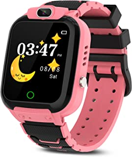 CMKJ Kids Smartwatch with 7 Games, Waterproof Smart Watch for Children with MP3 & Video Player, Touchscreen Gaming Smart W...