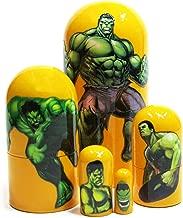GreatRussianGifts The Hulk American Comics Superhero 5-Piece 4.5