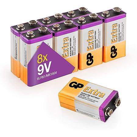 Gp Extra Alkaline 9v Block Batterien Longlife 9v Elektronik