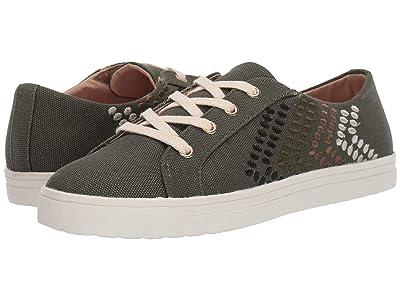 Jack Rogers Luna Sneaker (Olive) Women