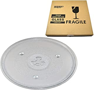 HQRP 10-1/2 inch Glass Turntable Tray compatible with Hamilton Beach 252100500497 HB-P90D23 HB-P90D23A HBP90D23 HB-P90D23AL-DJ Microwave Oven Cooking Plate 270mm