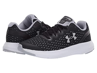 Under Armour Kids Charged Impulse (Big Kid) (Black/Mod Gray/Metallic Silver) Boys Shoes