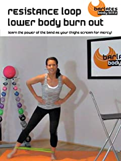 Barlates Body Blitz Resistance Loop Lower Body Burn Out