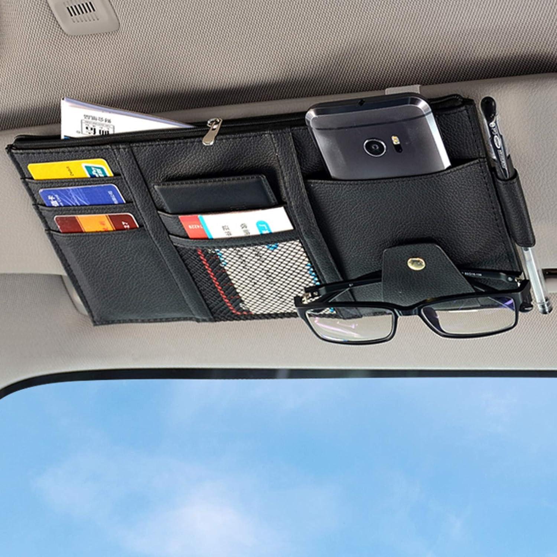 Nothomme Super intense SALE Car Visor Organizer Auto Accessories Pocket Interior 4 years warranty O