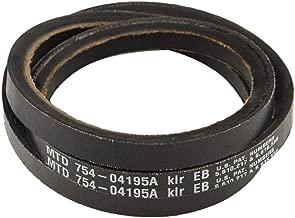 MTD 954-04195A Snow Thrower Auger Belt