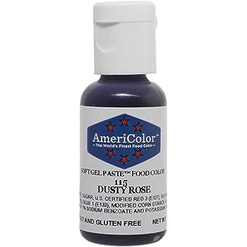 AmeriColor Dusty Rose Soft Gel Paste Food Color, .75 oz