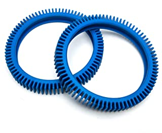 ATIE PoolSupplyTown Back Tire Replace The PoolCleaner Poolvergnuegen Rear Tire Kit 896584000-082 (2 Pack)