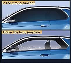 JIA-WALK Sputter Solar Tint Film Sun Control Film Heat Comtrol Vlt73%~43% Window Sticker Photochromic Film Car Building Summer Use 152cm30cm