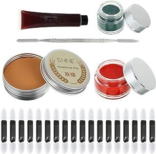 Beaupretty 55 stuks speciale effecten huidwax, professionele wondmodellering, littekenwaxset, nep-bloed, kit voor opvallen...
