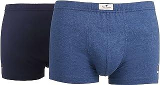 Tom Tailor Men's Plain Underwear Set Blue Blau-mittel-Melange