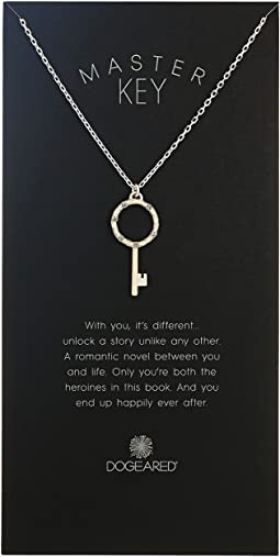 Master Key, Crystal Halo Key Necklace