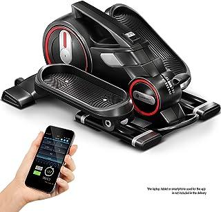 ¡Novedad de feria 2020! Mini bicicleta estática con app, Stepper DFX100 - Elíptica para ejercicio en oficina & casa, salud laboral, no necesario escritorio ajustable en altura - Máquina de piernas