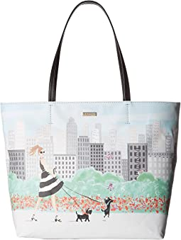 Kate Spade New York Mom Knows Best Mothers Day Scene Tote
