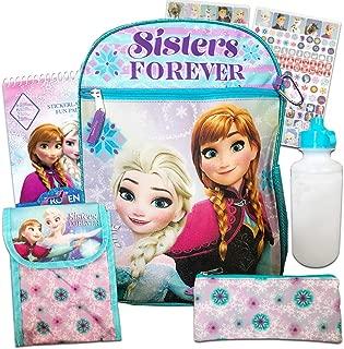 Frozen Backpack Set for Girls ~ 6 Pc Deluxe 16