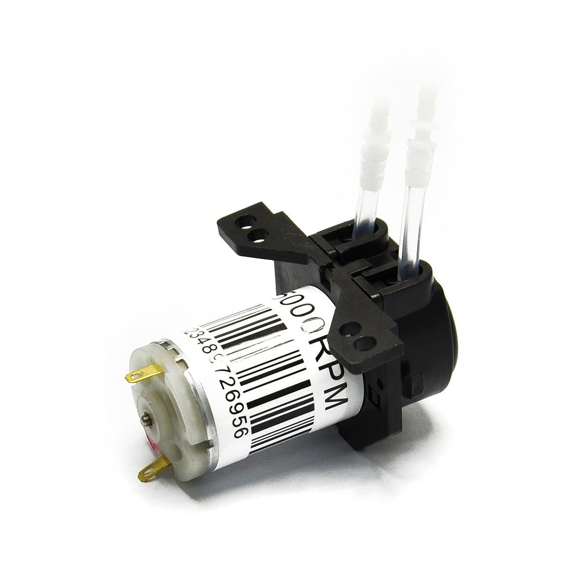 満足タービン誰でもGikfun 12V DC Dosing Pump Peristaltic Dosing Head with Connector For Arduino Aquarium Lab Analytic Diy AE1207