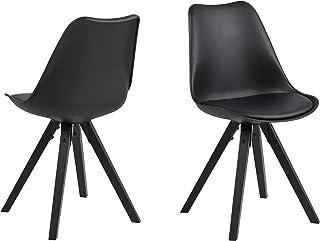 Amazon Brand - Movian Arendsee - Juego de 2 sillas de