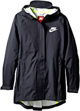 Nike Kids Sportswear Jacket Little Kid/Big Kid Black/Black/Volt/Reflective Silver Girl's Coat 806399 010