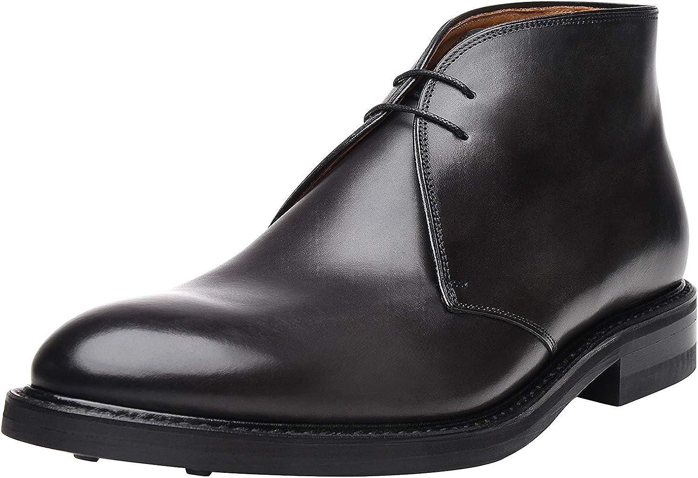 schuhePASSION - No. 6615 - Chukka Stiefel - Handgefertigter Business- oder Freizeitschuh für Herren. Versehen mit einmaligem Handfinish und Rutschfester Laufsohle.
