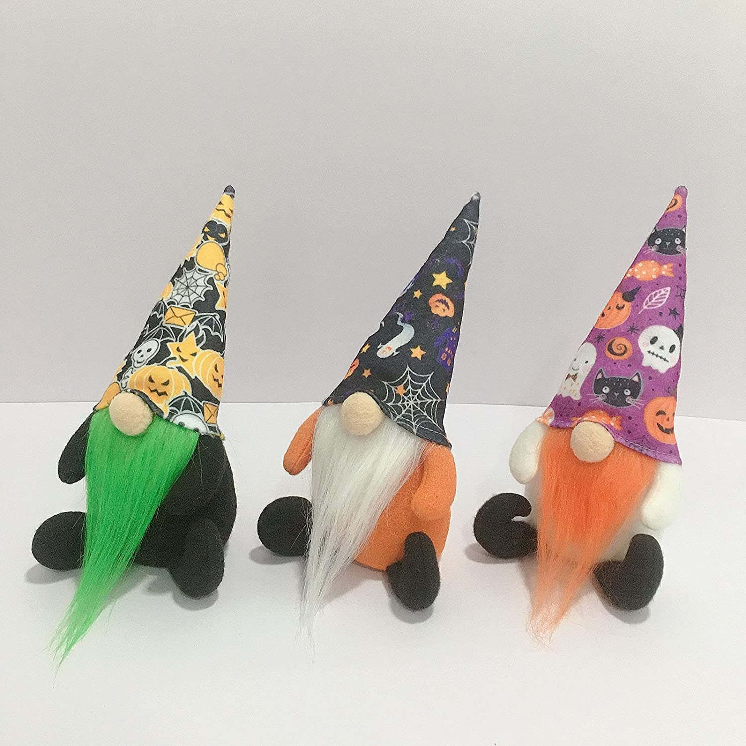 Trust 2Pcs Super beauty product restock quality top Halloween Witch Gnomes Tomte Handmade Plush Fall