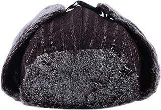 Yingwei VWH Winter Hats Casual Men Women Windproof Warm Hats Motorcycle Flight Ear Protection Cap