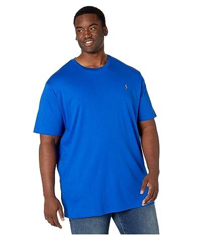 Polo Ralph Lauren Big & Tall Big Tall Short Sleeve Soft Cotton T-Shirt (Pacific Royal) Men