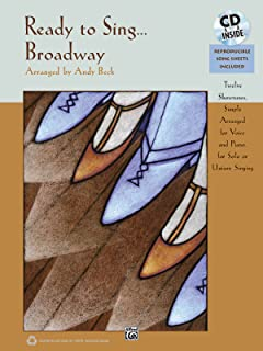 Ready to Sing . . . Broadway: 12 Showtunes, Simply Arranged