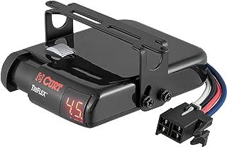 CURT 51140 TriFlex Electric Trailer Brake Controller, Proportional
