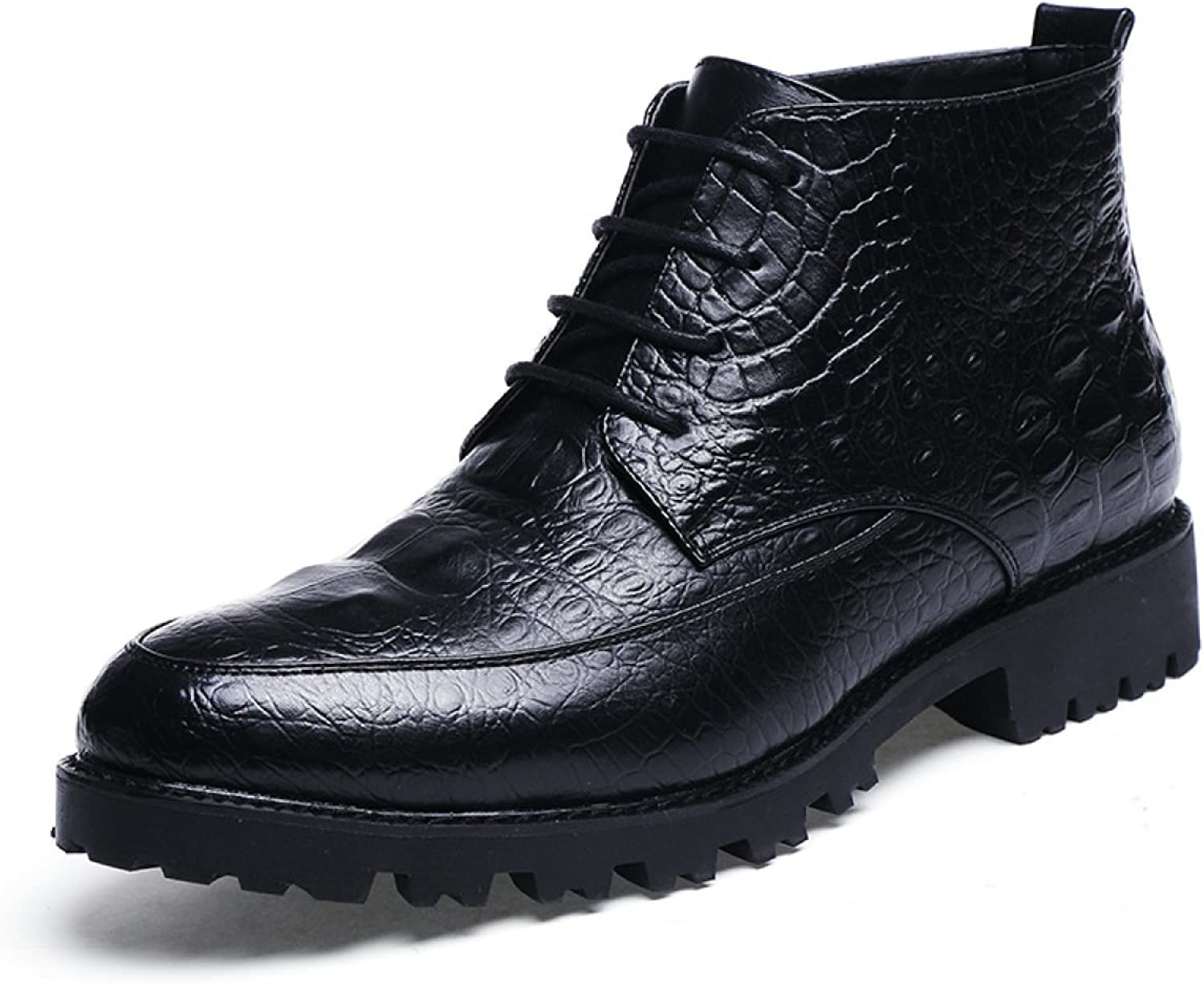 Spring And Autumn England High-top shoes Barber Casual shoes Men Night Club shoes Wedding Men's shoes