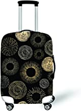 XL, XLXT24 Daoyiqi 18//20//22//24//26//28//30//32 Inch Personalized Elastic Polyester Travel Luggage Covers Protector