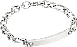 Classic Steel Narrow Polished Bracelet