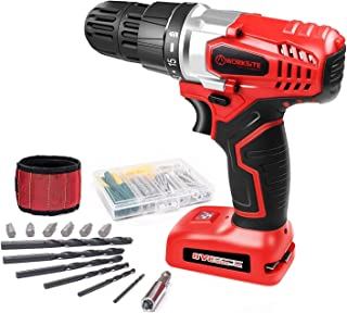 WORKSITE 8V Electric Cordless Drill Screwdriver with 1300mA Lithium-Ion Battery, 16..