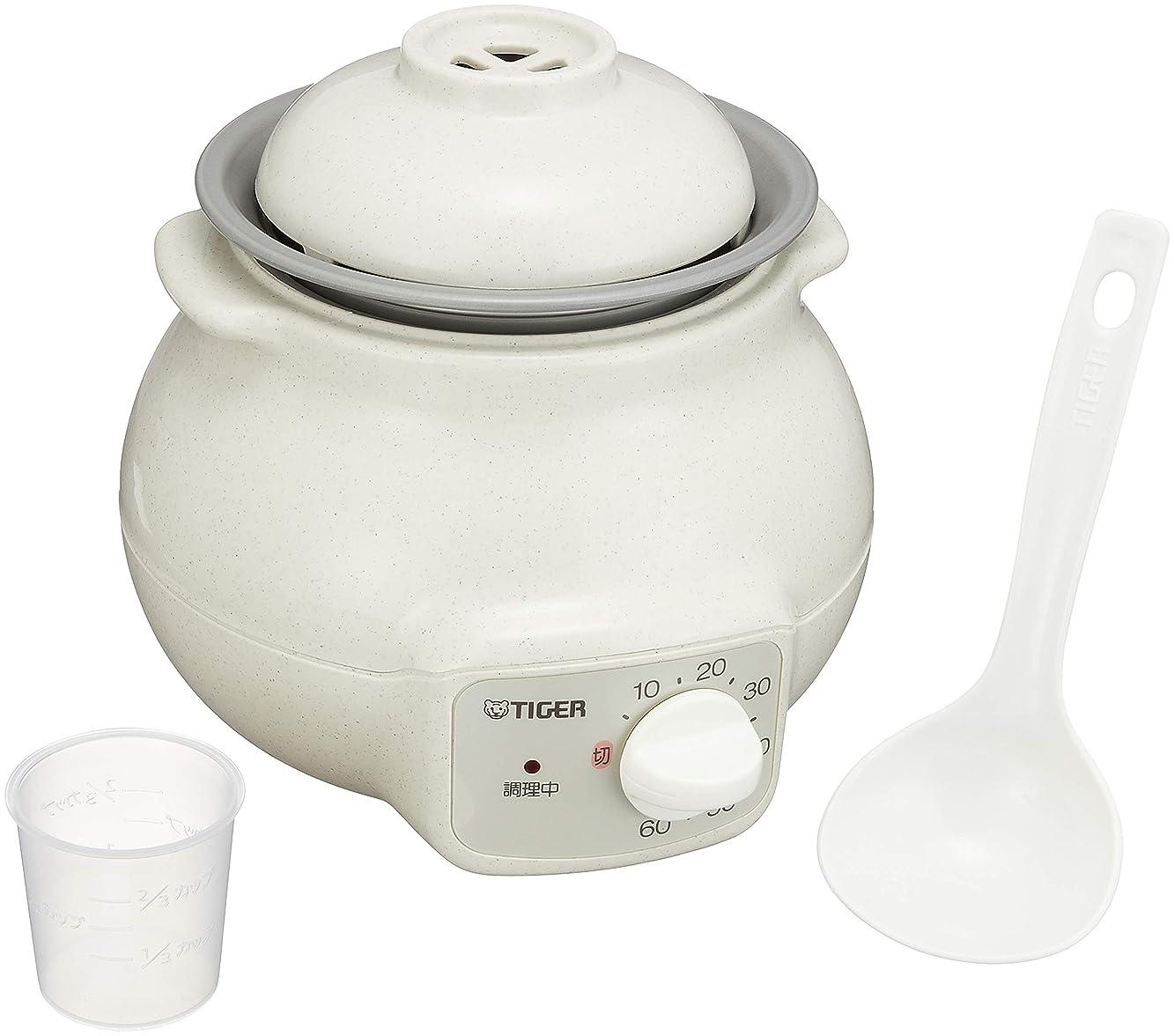 噛む後退するステレオタイガー 電気 おかゆ 炊飯器 茶碗 3 杯分 CFD-B280-C