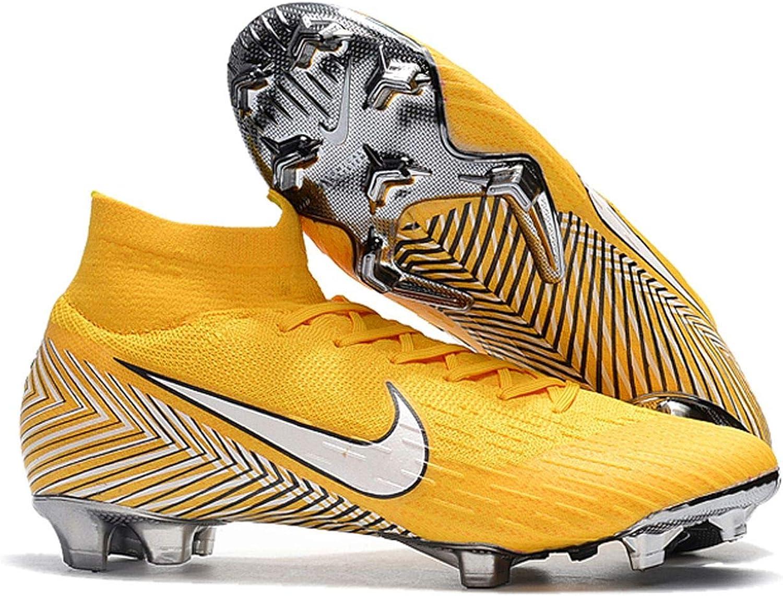 dc7e9e7c3 YTATime New Mercurial Superfly VI 360 Elite Elite Elite Soccer Cleats FG  Yellow 989aaa