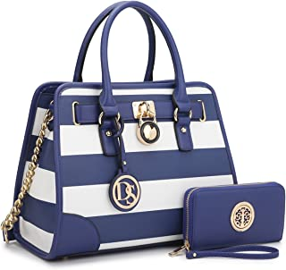 dbc6f644b6 DASEIN Women Handbags Top Handle Satchel Purse Shoulder Bag Briefcase Hobo  Bag Set 2pcs