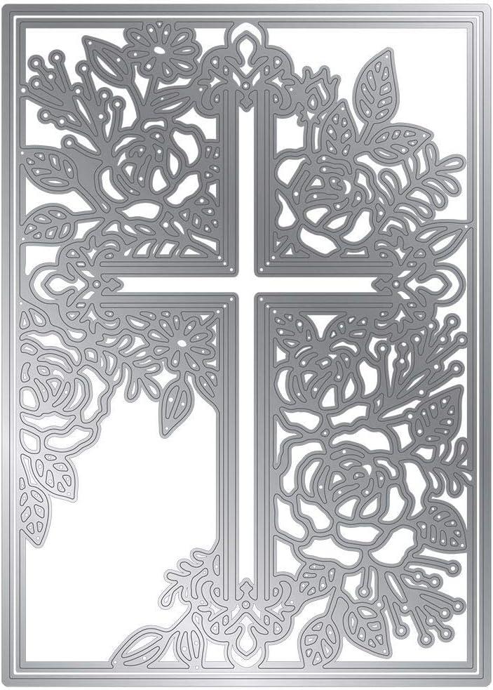 Die Cut Superior Cross - Metal Cuts for Embossing Stencil Card Choice